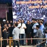 #Jallikattu: நடிகர்கள் மவுனப் போராட்டம்