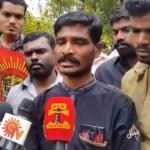 நாம் தமிழர் கட்சி செயலாளருக்கு காவல்நிலையத்தில் நடந்த கொடுமை! (வீடியோ)