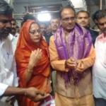 இராமேஸ்வரம் கோயிலில் மத்திய பிரதேச முதல்வர்