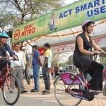இனி சென்னை மெட்ரோ ஸ்டேஷனில், சைக்கிள் வாடகைக்குக் கிடைக்கும்!