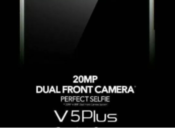 Vivo V5 Plus with dual selfie camera set to launch in India