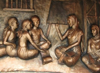 Birthday remembrance of Savitribai Phule, India's first teacher of female gender