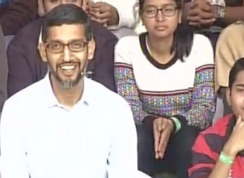 Google CEO @sundarpichai interacting with students at IIT-Kharagpur