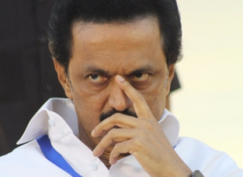 Do not fall on my feet says M.K.Stalin