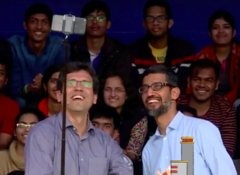 Sundar Pichai's Flashback in IIT Campus