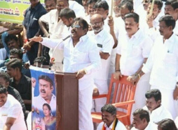 Can you ban elephants in Kerala and Camels in Rajasthan , asks Vijayakant