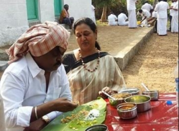 Vijayakant gives surprise to people in Erode