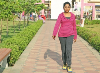 Start your day with 20 minutes of walking