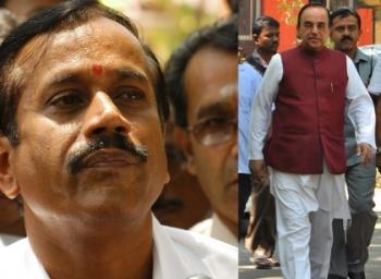 'ஹெச்.ராஜா, சு.சுவாமி, ராதாராஜன் மீது நடவடிக்கை வேண்டும்'!