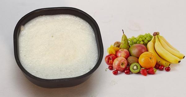 kanji with fruits