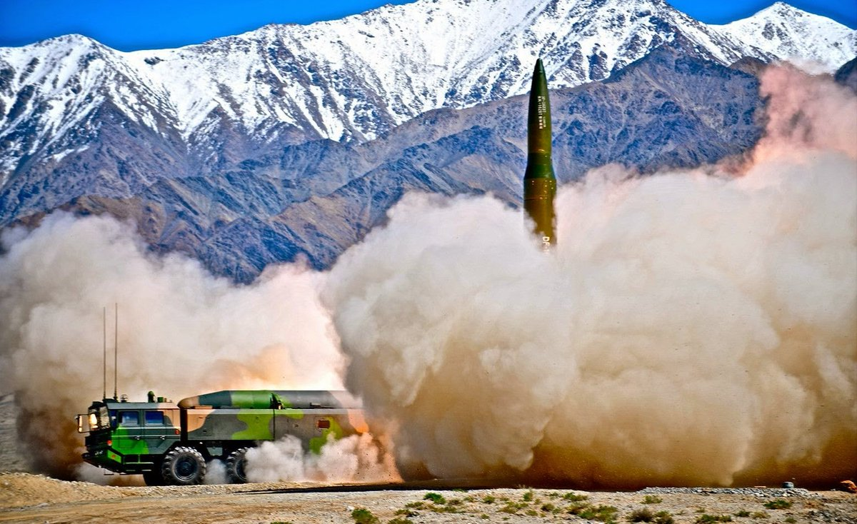 DF-16 medium-range ballistic missile