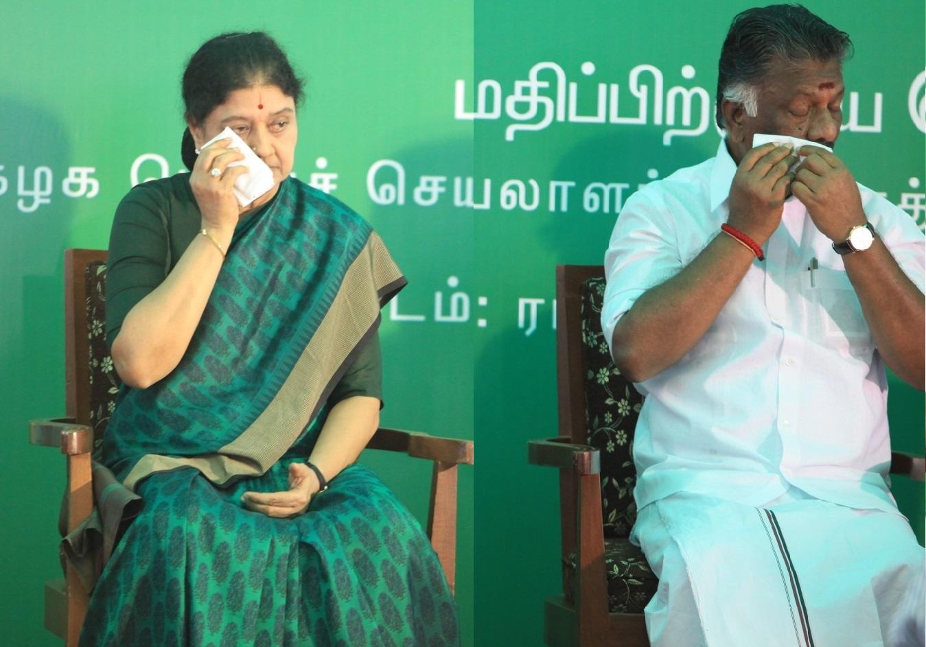 ஓ.பி.எஸ். vs சசிகலா