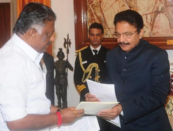 ஆளுநர் வித்யாசாகர் ராவ்-பன்னீர்செல்வம்
