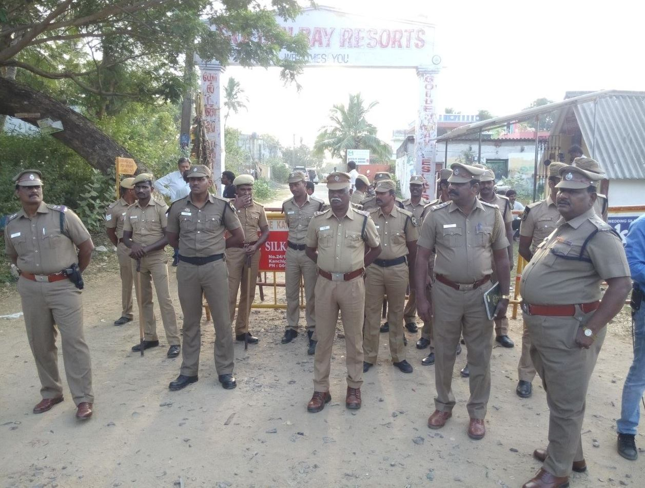 Police security Kuvathur