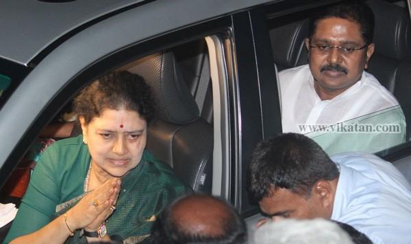 டி.டி.வி.தினகரன்-சசிகலா