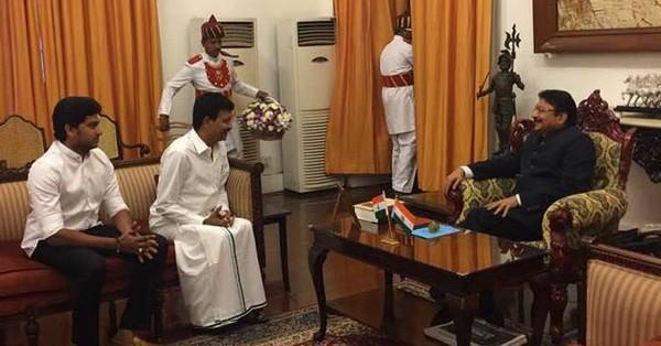 திவாகரன்-ஆளுநர் வித்யாசாகர் ராவ்