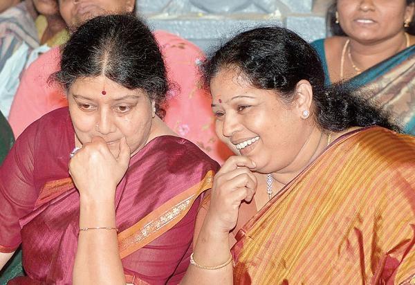சசிகலா -இளவரசி | Sasikala - Ilavarasi