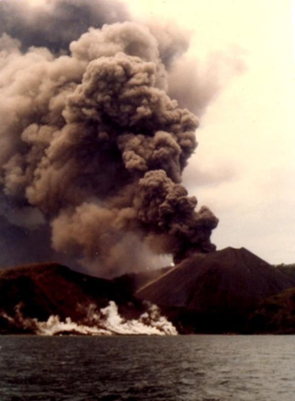 1991-ல் அந்தமான் எரிமலை