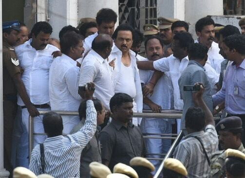 Assembly factual report, Stalin at TN Assembly
