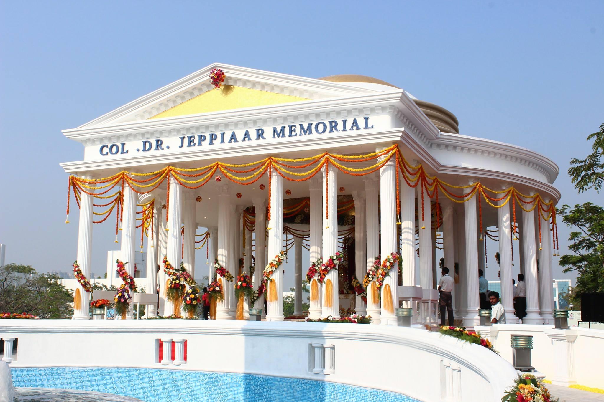 Sathyabama University Jeppiaar memorial