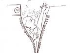 நேற்று ஹாசினி... இன்று ரித்திகா #OneMinuteSketch