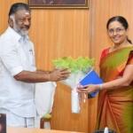 முதல்வர் பன்னீர்செல்வத்துடன், தலைமைச் செயலாளர், டிஜிபி திடீர் ஆலோசனை