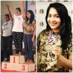 இந்திய அளவிலான பளு தூக்கும் போட்டியில் பங்கேற்கும் நடிகை ரம்யா...!