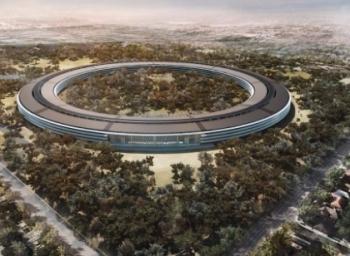 ஆப்பிளின் புது 'பச்சைப் பசேல்' அலுவலகம்! #AppleCampus2