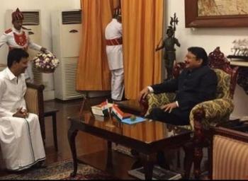 எடப்பாடி ஜெயிச்சது எப்படி... திவாகரன், கவர்னர் சந்திப்பின் பின்னணியா?