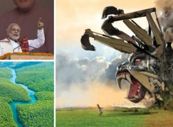 அமேசானில் அமெரிக்கா செய்ததை... தமிழகத்தில் மோடி அரசு செய்கிறதா? #SaveNeduvasal