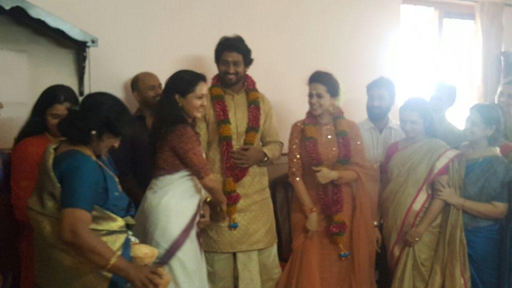 Bhavana engagement