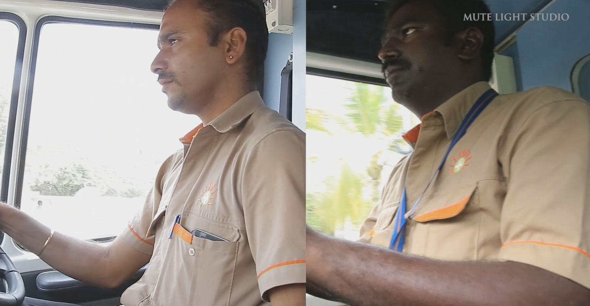 ஆம்புலன்ஸ் டிரைவர்கள் சுரேஷ் மற்றும் ராபின்