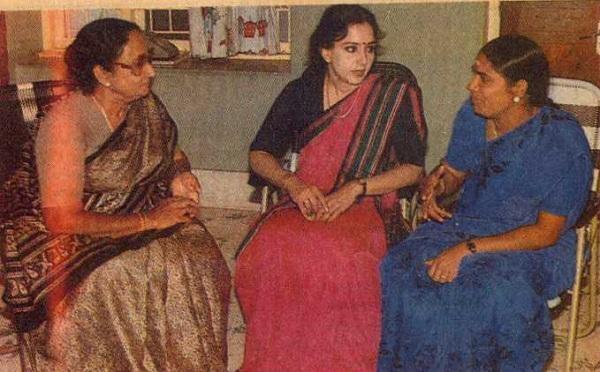சுலோக்சனா சம்பத், வெண்ணிற ஆடை நிர்மலா, வளர்மதி