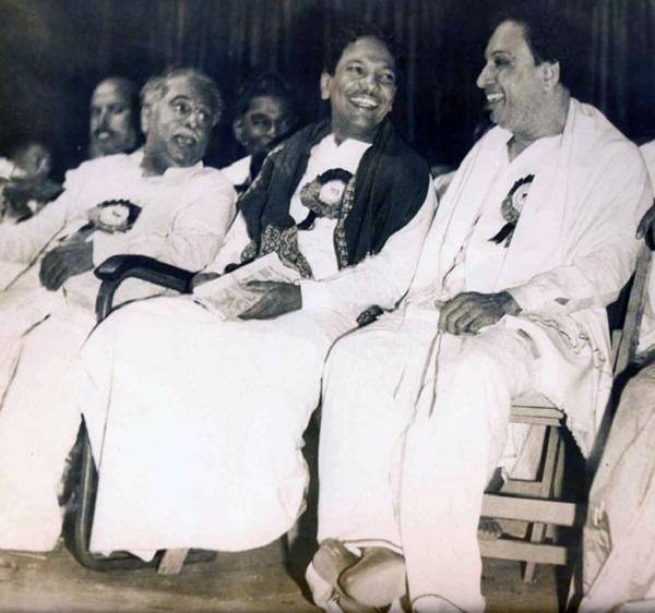 அண்ணா, கருணாநிதி, எம்.ஜி.ஆர்