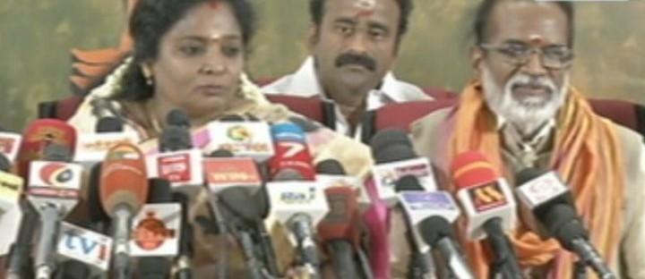 தமிழிசை செளந்தரராஜன்- கங்கை அமரன்