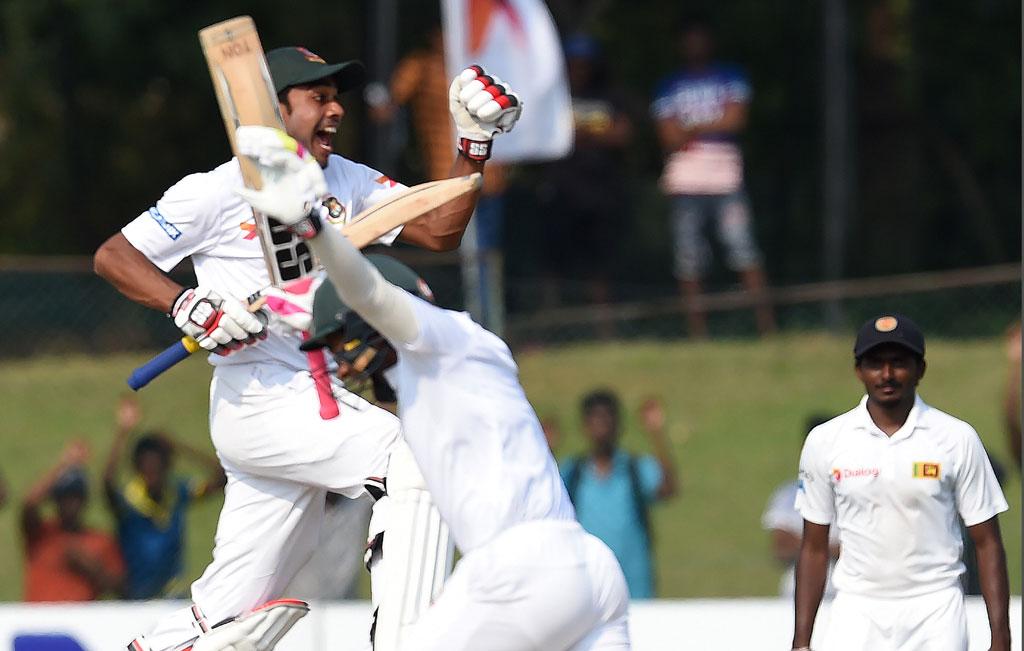 Bangladesh beats Srilanka in 100th test