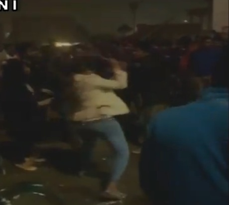 Girl thrashed molesters in UP