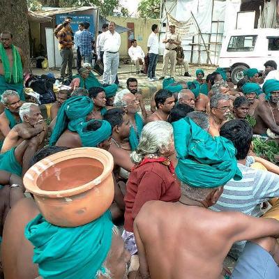 TN farmers in delhi