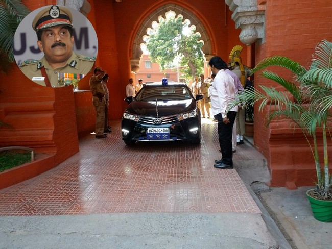 chennai police commissioner george- Madras High Court