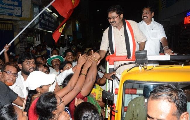 ஆர்.கே.நகர் தொகுதி தினகரன் பிரச்சாரம்