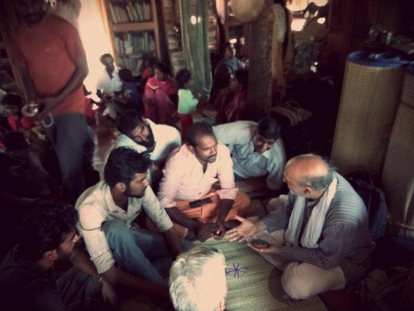குக்கூ காட்டுப் பள்ளி அரவிந்த் குப்தா