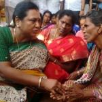 மீனவர் போராட்டக் களத்தில் பிரேமலதா விஜயகாந்த்!
