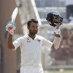 #CricketUpdates- புஜாரா சதம் விளாசல்- இந்தியா 360/6