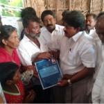 மரணமடைந்த பிரிட்ஜோவின் குடும்பத்துக்கு தமிழக அரசு ஐந்து லட்ச ரூபாய் நிவாரணம் வழங்கியது