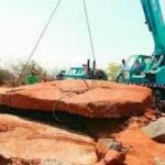 கீழடிக்கு அடுத்த ஆச்சர்யம்- தெலுங்கானாவில் 'பெருஞ்சுவர்க் கல்'