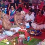 களைக்கட்டிய அடிக்கல் நாட்டு விழா : கைக்கோத்த ரஜினி - கமல்..!!!
