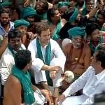 தமிழக விவசாயிகளுக்கு ஆதரவாகக் களமிறங்கிய ராகுல் காந்தி!