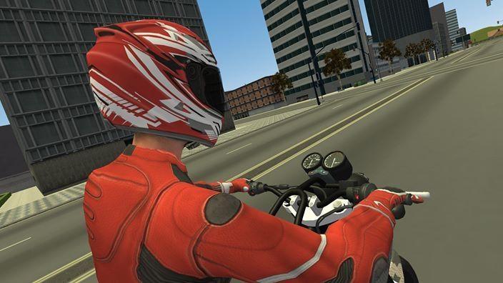 ஃபேஸ்புக் கேம் - Traffic Motorbike