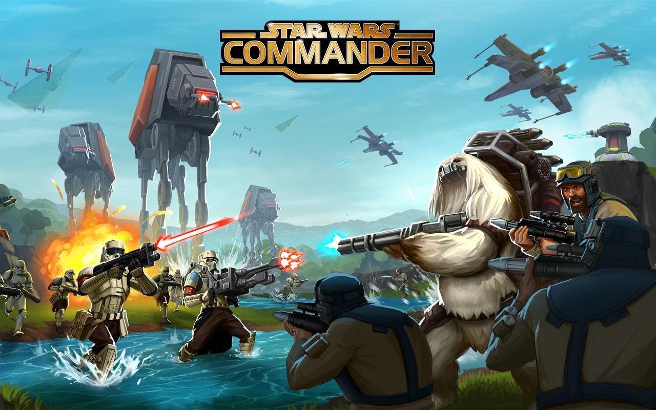 ஃபேஸ்புக் கேம் - Star Wars: Commander