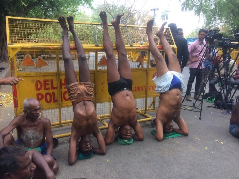 TN farmers delhi protest